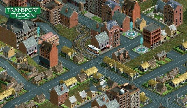 Um das Städtewachstum zu fördern, errichtet ihr Gleise, Straßen und Schiffswege.