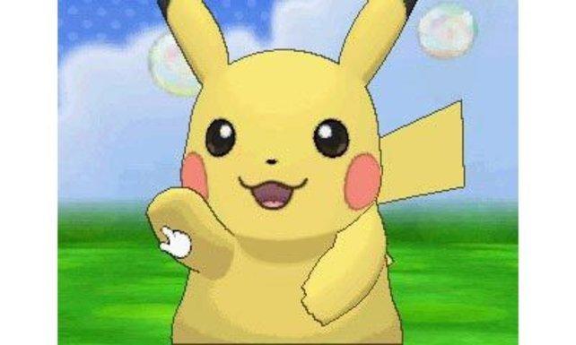 Pikachu streicheln und knuddeln, bei X & Y ist das möglich.