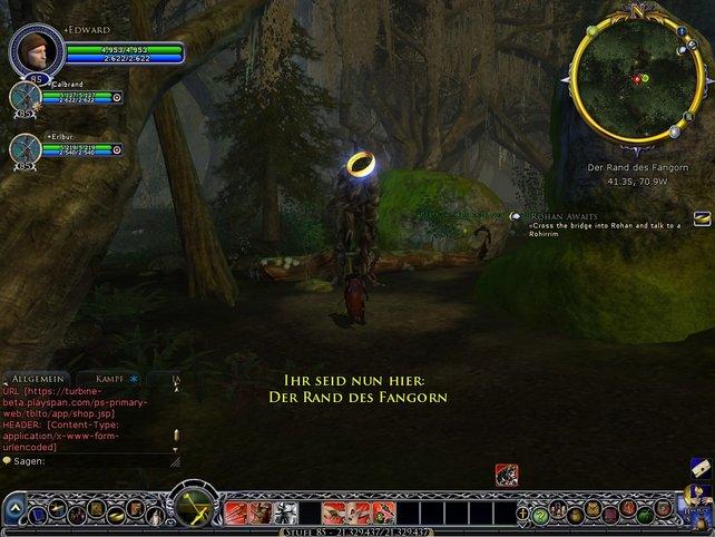 Auch in den Tiefen des Fangorn-Waldes warten epische Aufgaben auf euch.