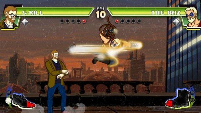 Kenner der Kampfspielszene freuen sich über Anspielungen auf reale Personen.