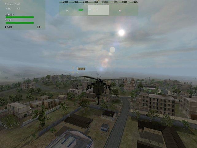 Hubschrauberinvasion