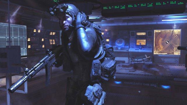 Activision hält Bildmaterial aus dem Spec Ops noch zurück, hier seht ihr einen Elite-Soldaten aus der Kampagne.