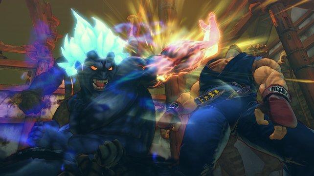 Angriff des Akuma-Klonkriegers Oni.