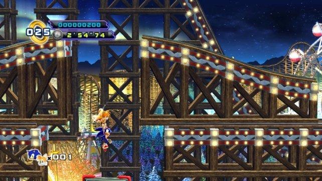 Auf die obligatorische Freizeitpark-Stage verzichtet auch dieser Sonic nicht.