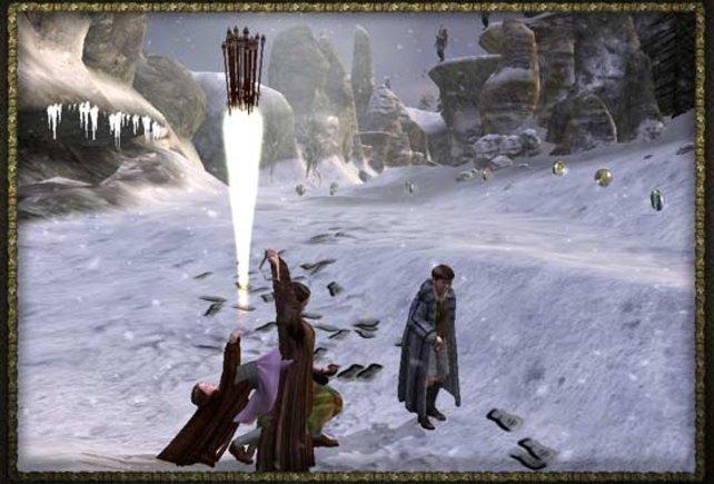 Die Schneelandschaft von Narnia