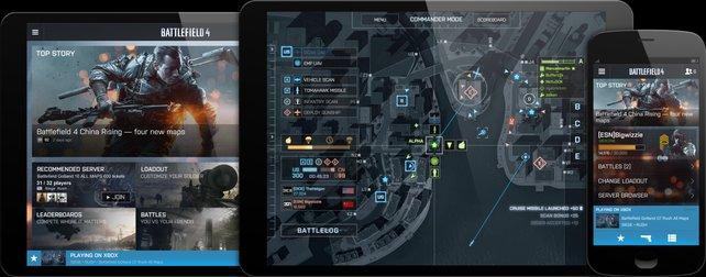 Auch mit dem Tablet spielbar: Der Commander-Modus.