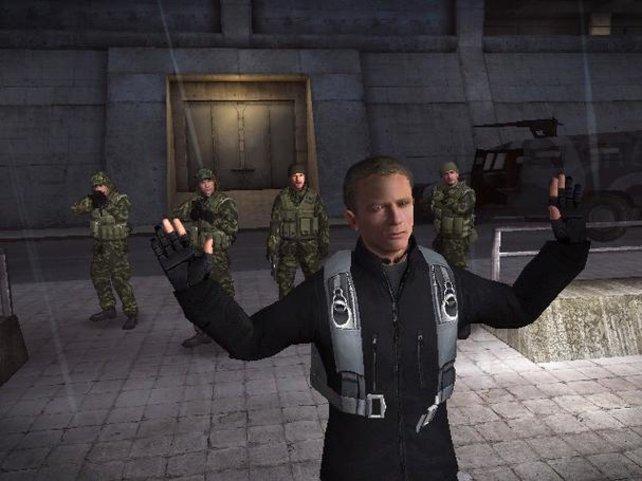 Daniel Craig übernimmt in GoldenEye 007 den Part von Herrn Brosnan.