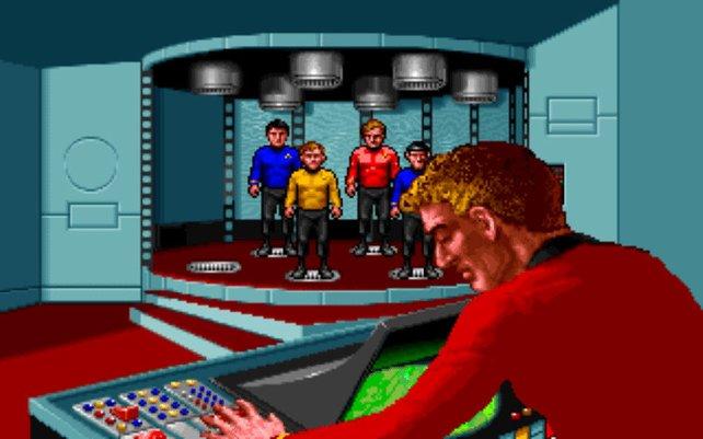 Beam uns runter, Scotty (Star Trek: 25th Anniversary)!