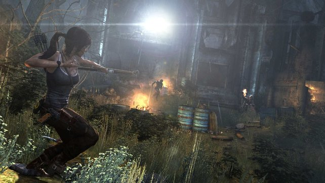 Die neue Lara zieht euch glatt die Socken aus? Schreibt uns eine Meinung zu Tomb Raider.
