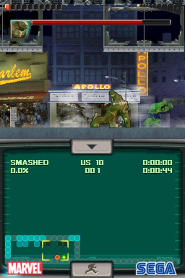 Auch auf dem DS dürft ihr euch auf einige Bossfights freuen.