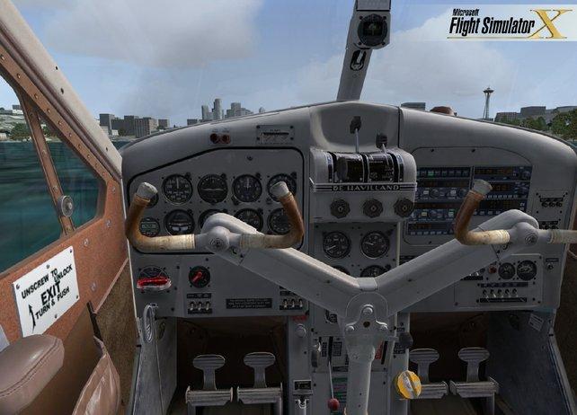 Die Cockpits des Spiels sehen extrem gut aus