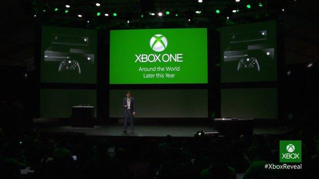Die Xbox One erscheint weltweit noch dieses Jahr.