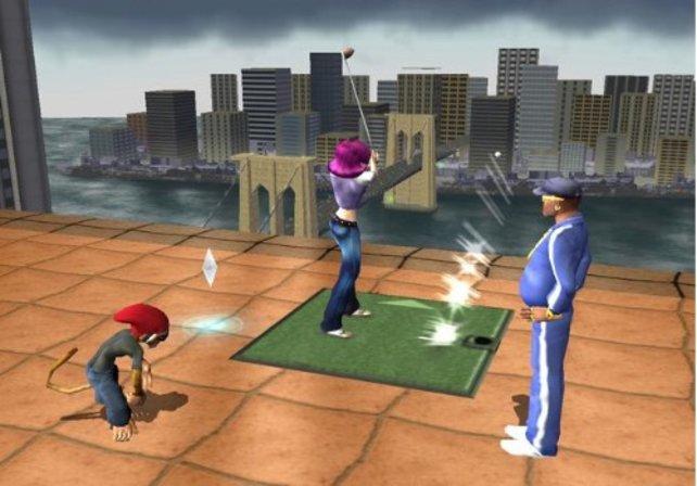Golf mal ein bisschen anders