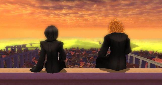 Ganz schön stimmungsvoll: Ein besinnlicher Moment aus Kingdom Hearts 358/2 Days.