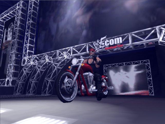 Undertaker is rollin rollin ...