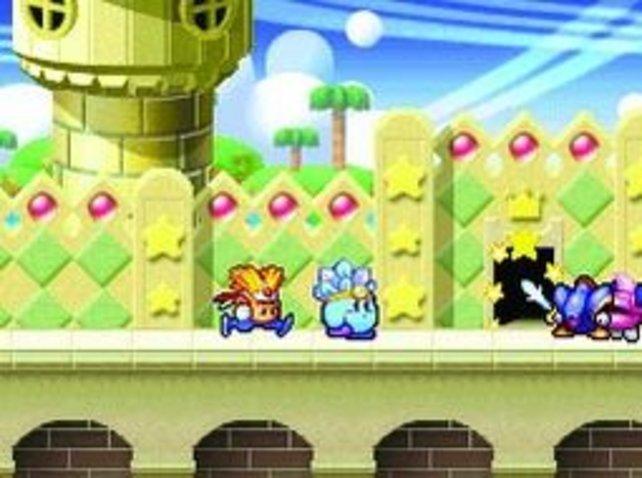 Bei Kirby führt ein leckeres Eis oft zu unangenehmen Konsequenzen...