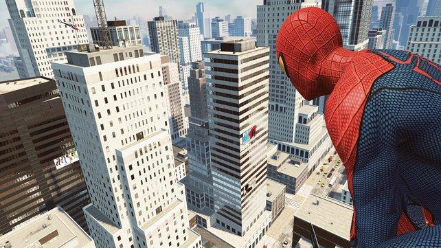 Spider-Man ist zurück und genießt die offene Welt von Manhattan.