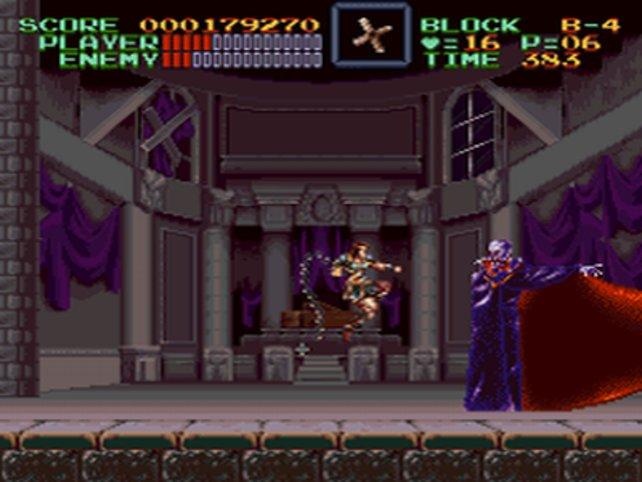 Simon (Castlevania) auf dem SNES - einer von vielen NES-Veteranen.