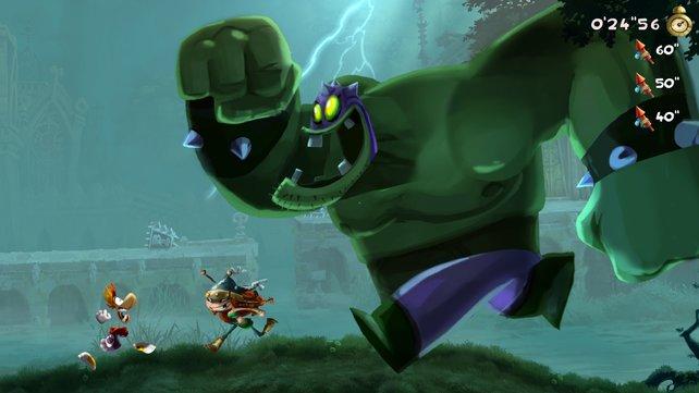 Grafisch ist der aktuelle Rayman einfach umwerfend.