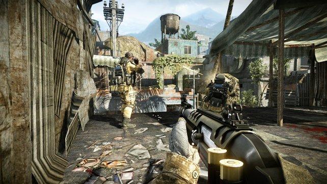 Konkurrenz für Call of Duty und Battlefield: Warface bietet schnelle Online-Duelle.