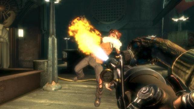 An Action mangelt es Bioshock wahrlich nicht.