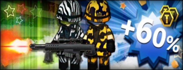 Brick-Force: Zebra- und Tiger-Kostüme