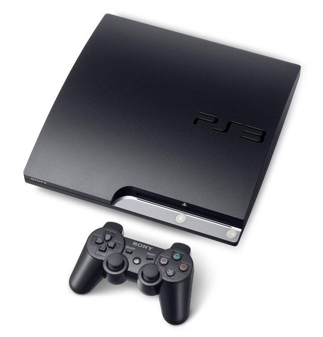 Schwarz, breit, stark: die Playstation 3.