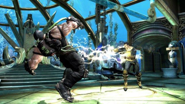 Gegen diese mächtige Blitz-Attacke ist der Gegner erstmal machtlos.