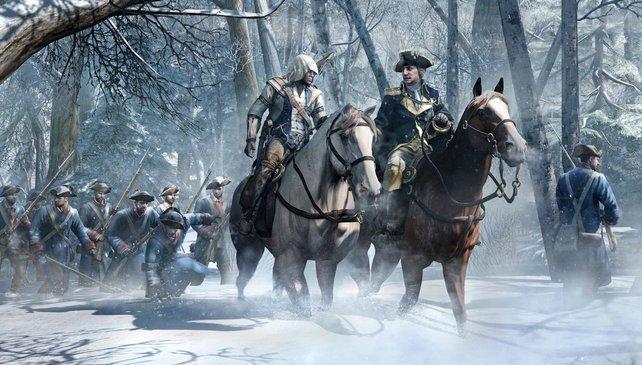 Assassin's Creed 3 spielt während des Amerikanischen Unabhängigkeitskrieges.