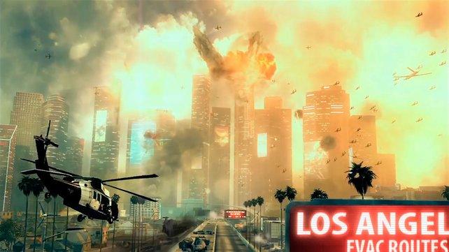 Bombastische Inszenierung ist auch ein Markenzeichen von Teil 2.