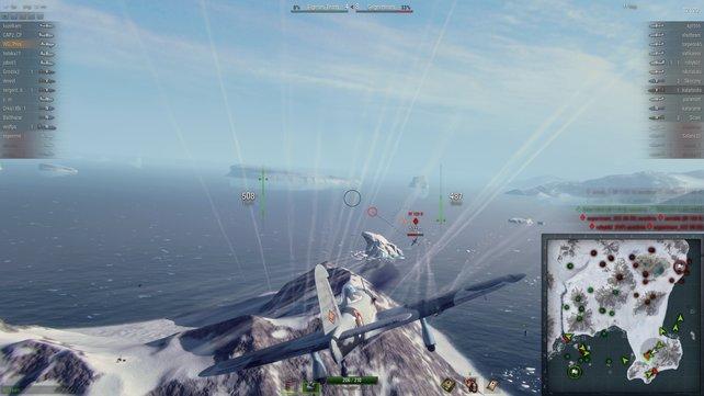 In World of Warplanes warten spannende Luftkämpfe auf euch.