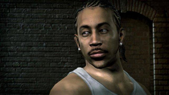 Ludacris ist das beste Beispiel welche Grafikpower im Spiel steckt