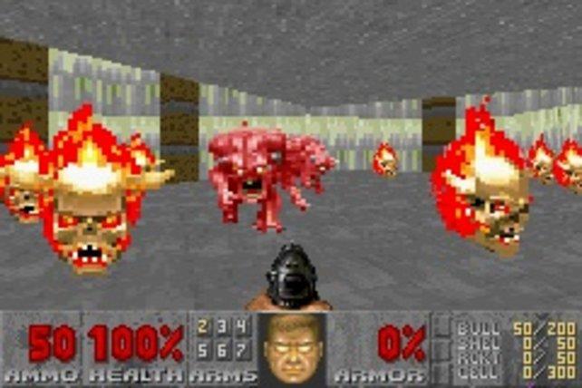 Auch der Game Boy Advance erhält eine Umsetzung von Doom 2.