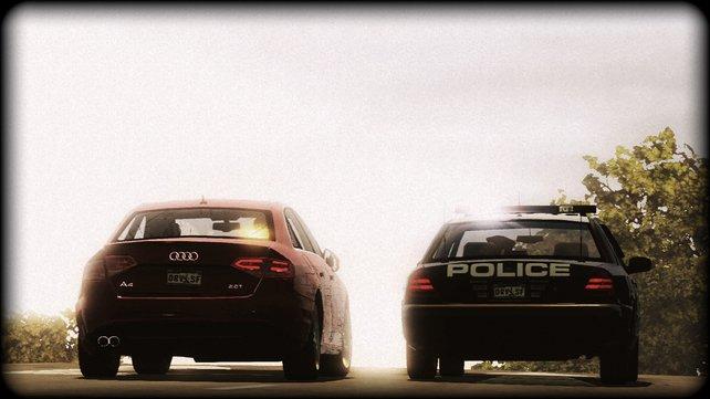Lizensierte Autos wie Audi sind erstmals in der Driver-Reihe am Start.