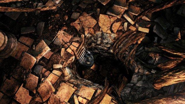 Ab in die Tiefe: An dunklen Orten erwartet euch garantiert eine fiese Teufelei.