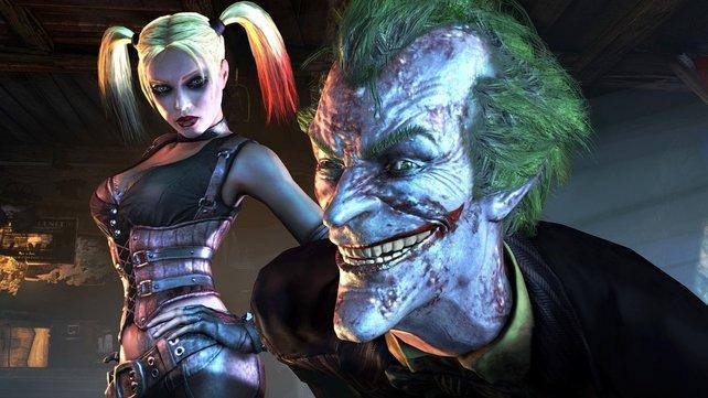 Joker und Harley Quinn - ein tödliches Duo.