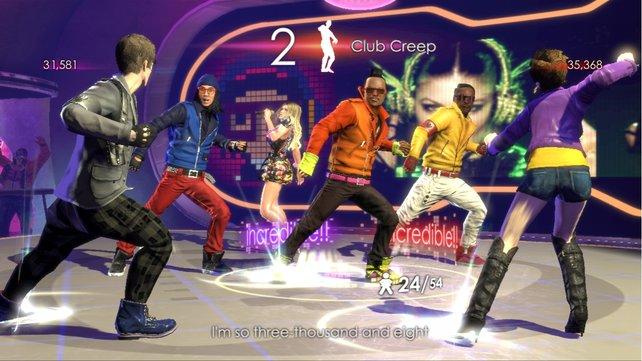 Tanzt zu den treibenden Rhythmen der Black Eyed Peas.
