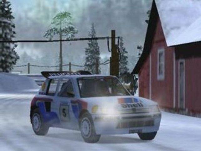 Durch die verträumte schwedische Schneelandschaft...