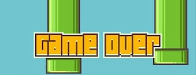 Game Over für Flappy Bird