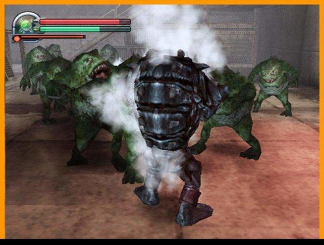 Umringt von zig Monstern, die alle gleich hässlich aussehen - das sind 90% des Spieles.
