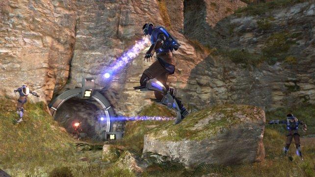 Wie in alten Shootern wie Quake, zählt das Können des Spielers in ShootMania Storm besonders.