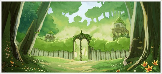 """Das magische Tor ist das Ziel zum """"Paradies""""."""