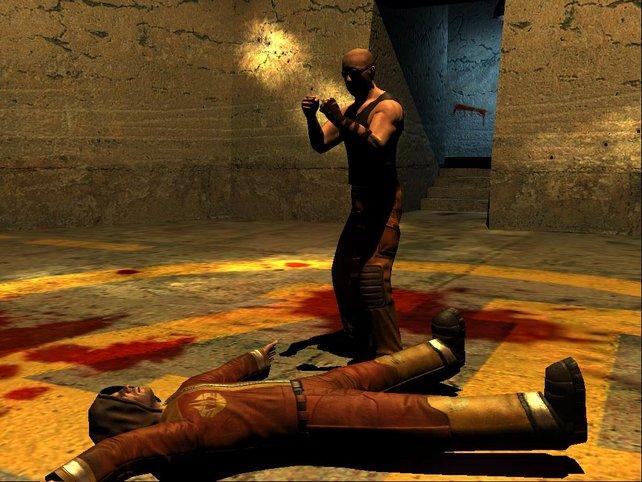 Riddick hat einen Gefangenen getötet...