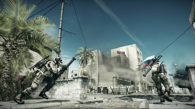 Strike at Karkand: Scharfschützen fühlen sich zwischen den Häusern und verwinkelten Straßen wohl.