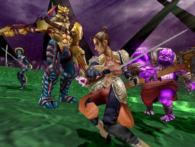 Mit Summoner wagt sich Volition ins Fantasy-Genre (hier Teil 2).