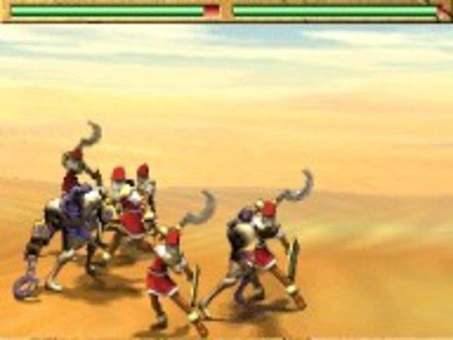 Die Kämpfe laufen auf dem obern Bildschirm ab und sind sehenswert in Szene gesetzt.