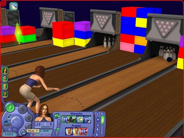 Neuer Sims - Sport: Bowling
