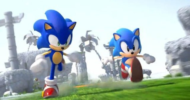 Die zwei Sonics vereinen bekannte 2D- und 3D-Hüpfspiele miteinander.