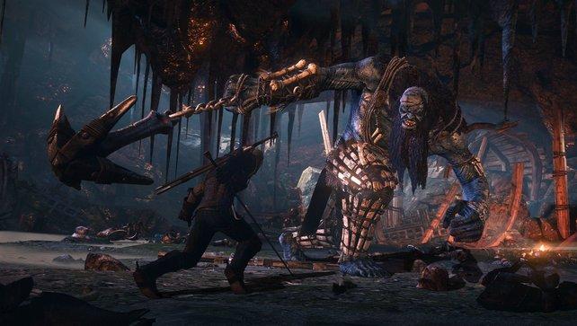 Hoffentlich hat sich Geralt vor dem Kampf über seinen Gegner informiert.