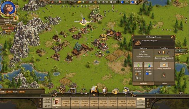 Die Siedler Online ist ein sehr beliebtestes Aufbau-Strategie-Spiel.